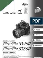 FinePix Camera S5200 S5600 owner manual PDF