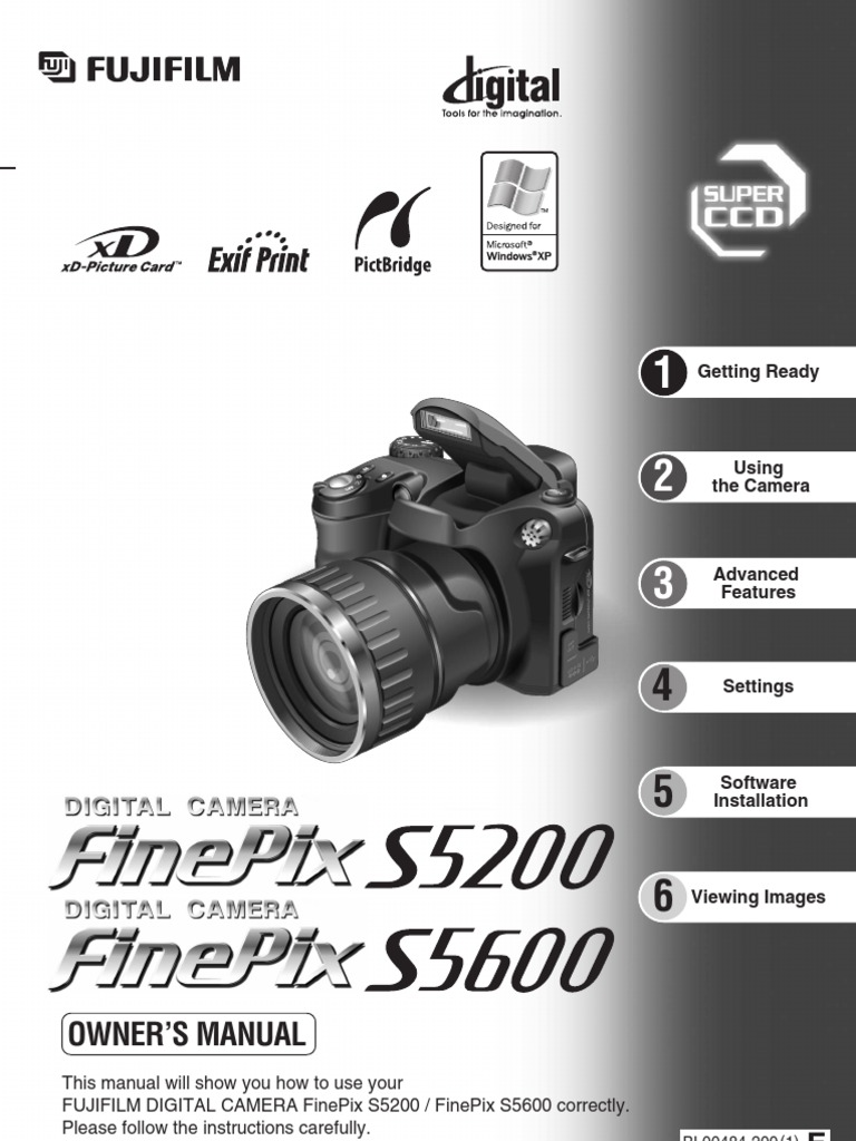 finepix camera s5200 s5600 owner manual pdf zoom lens autofocus rh scribd com Fujifilm FinePix S5200 Review Fujifilm FinePix S5200 Accessories