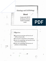 Blood Tissue Note - hoistology
