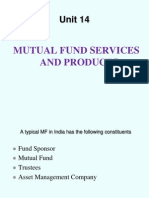 MUTUAL FUNDS Services and Products Unit 14 Mbfs