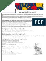 Manipulative Play