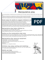Manipulative Play