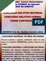 Aula 5 (Concurso, Crime Continuado)