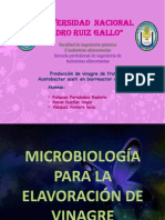biorreactor vinagre