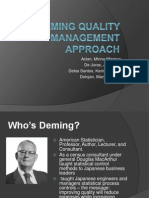 Deming Quality Management Approach (1)
