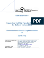 Forster Foundation for Drug and Rehab 12 March Written
