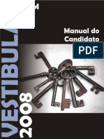 Manual do Candidato UFSM 2008