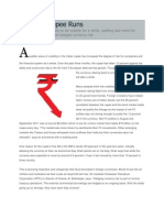 How the Rupee Runs