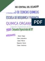 Trabajo Compuestos Organoclorados
