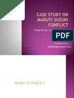Case Study on Maruti Suzuki Conflict