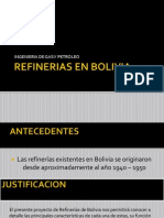 Refinerias en Bolivia