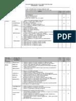 Tabla Especificaciones Enae-2009 Aspefeen