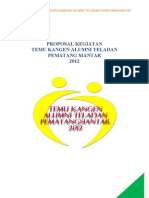 Proposal Temu Kangen Alumni Teladan PS 2012 (Edit)