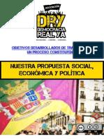 Asociación DRY -  Programa desarrollado y objetivos políticos