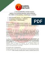 Programa Resumen Al Senado Universitario 2012 - 2014