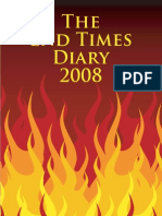 The End Times Diary 2008