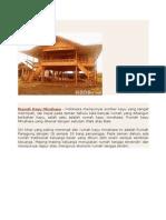 Rumah Kayu Minahasa