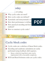 I2IT Cyclic Block Codes