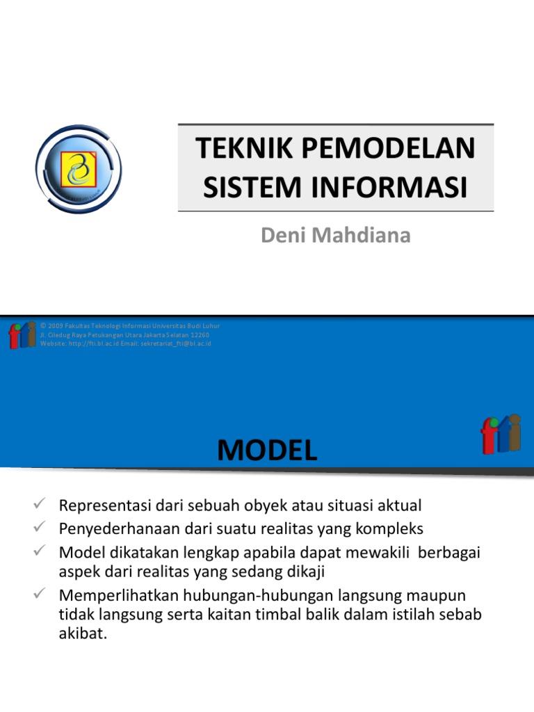 Teknik pemodelan sistem informasi ccuart Images