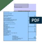 Excel 97-2003 Income Tax Calculator AY 2012-13