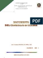 Documento 15 Maggio 3^f
