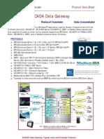 SCADA Data Gateway Fact Sheet
