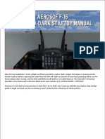 F-16 Startup Guide