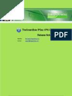 ZyWALL IPSec VPN Client Release Note 3.0.204.61.71