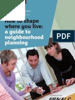 How to Shape Where You Live