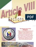 Article 8 Sec13-16