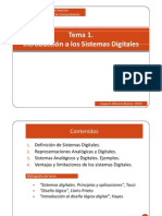 Tema 1 Introduccion a Los Sistemas Digitales