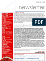 Newsletter Website June July 2012
