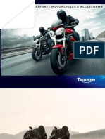 2012 - Triumph Roadsters & Supersports & Accessoires 2012