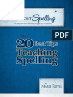 20 Best Tips for Teaching Spelling