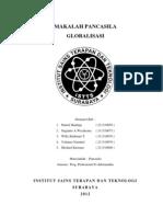 Makalah Pancasila - Pengaruh Globalisasi Terhadap Buruh di Indonesia