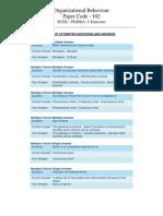 Scdl Organizational Behaviour Paper - 4