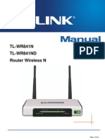 Manual Utilizare Router Wireless TL-WR841N Romana