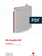DSL EasyBox 803 Arcadyan 20100412