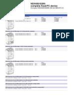 Nsx630n Catalog