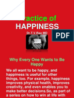 Happiness, Practice of happiness
