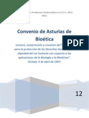 Convenio de Asturias de Bioética | Unión Europea | Ciencia