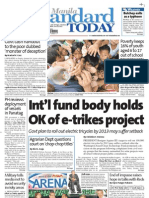 Manila Standard Today - June 18, 2012 Issue