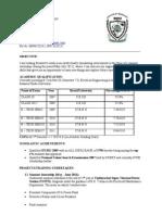 Arunank Sharan Resume