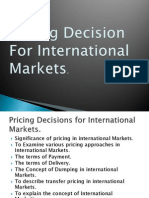 Int. Pricing Factors 2