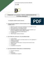 Formation Au Langage c Pour La Programmation de Systemes Embarques