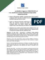 Radiance Shareholders Approve US$49M RTO of U.K.Based Sat Comms Equipment Specialist Global Invacom