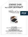 Brownie Pan Recipe Booklet