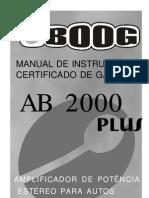 Manual Ab 2000