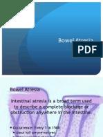 Bowel Atresia