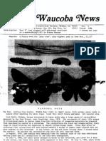 Waucoba News Vol. 5 Winter 1981